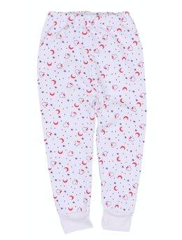 Pantalonasi de pijama stelute rosii