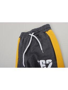 Pantaloni de trening 62 model gri inchis