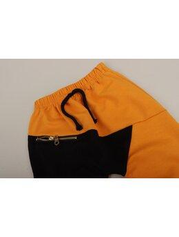 Pantaloni de trening fashion galben