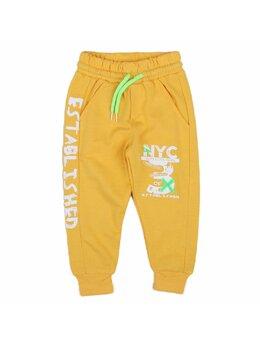 Pantaloni de trening NYC boy galben