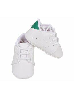 Pantofiori eleganți albi bebeluși