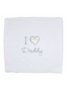 Patura crosetata I Love Daddy