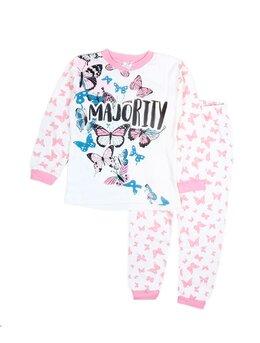 Pijama fluturas roz