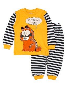 Pijama Gardfield galben