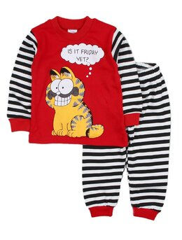 Pijama Gardfield rosu