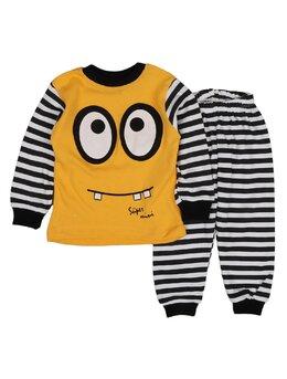 Pijama ochisori galbena