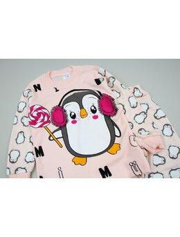 Pijama pinguin acadea coral