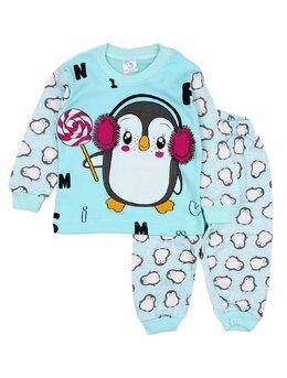 Pijama pinguin acadea verde