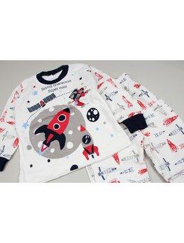 Pijama Planet negru