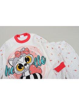 Pijama raton girl coral