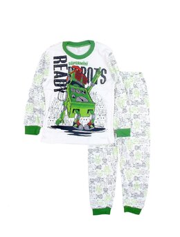 Pijama Robotel verde