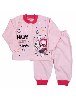 Pijama ursulet roz