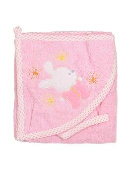 Prosop baie roz iepuras