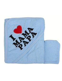 Prosopel I love MAMA PAPA bleu