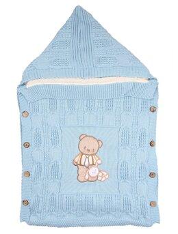 Sac de dormit exterior bleu model ursulet