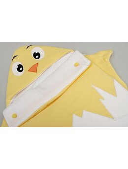 Sac de dormit pui model galben