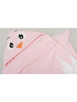 Sac de dormit pui model roz