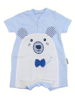 Salopeta cute bear bleu