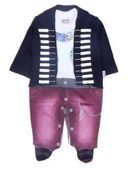 Salopeta fashion jacheta neagra