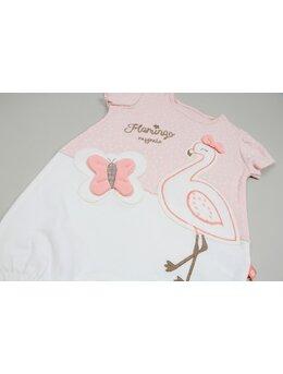 Salopeta flamingo roz