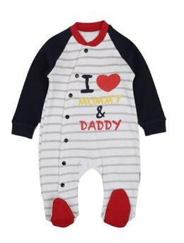 Salopeta I love mummy daddy model 2
