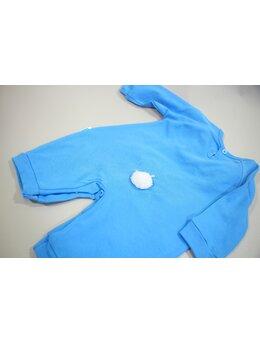 Salopeta iepurila albastru