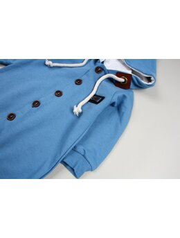 Salopeta nasturasi model albastru