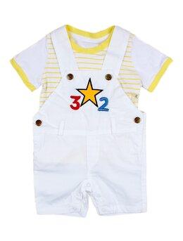 Salopeta star alb-galben