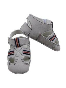 Sandale baietei model gri