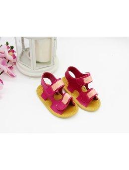 Sandale cu scipici ciclam