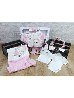 Set 10 piese baby girl roz