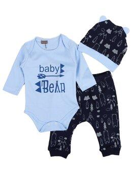 Set baby bear model bleu