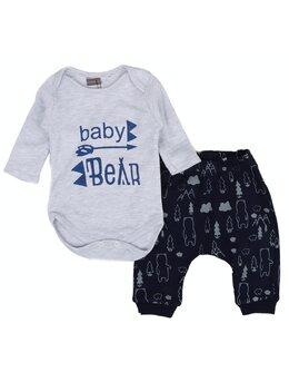 Set baby bear model gri