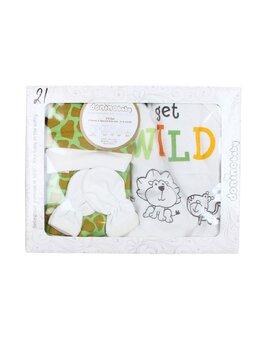 Set cutiuta 4 piese WILD verde