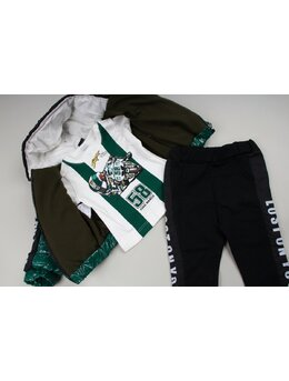 Set fashion boys verde