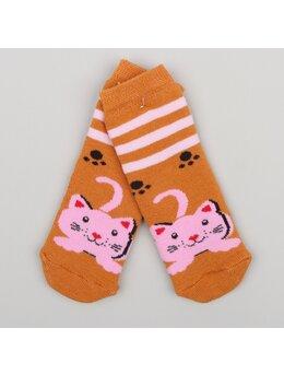 Sosete groase pisicuta maro