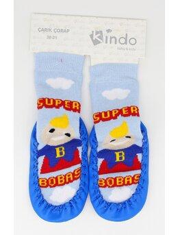 Sosete mocasini baietei Super Bobas