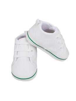 Teniși LEON alb-verde