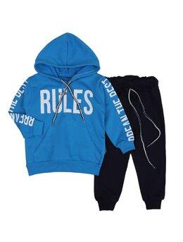Trening RULES 2 piese albastru