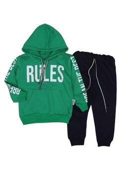Trening RULES 2 piese verde