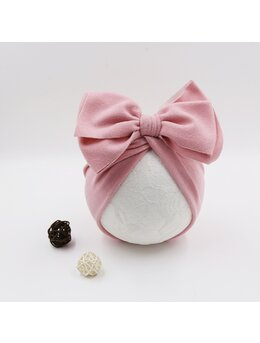 Turban catifelat roz