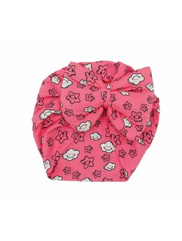 Turban roz aprins cu norisori model 51