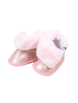 Ugg-uri baby roz cu sclipici