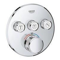 Baterie dus Grohe Grohtherm SmartControl termostatica cu 3 iesiri