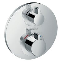 Baterie dus termostatata Hansgrohe Ecostat S cu montaj incastrat, doua functii