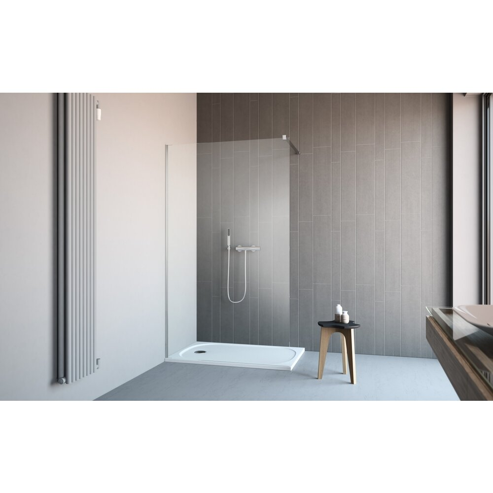 Cabina de dus tip Walk-in Radaway Classic 100 cm imagine neakaisa.ro