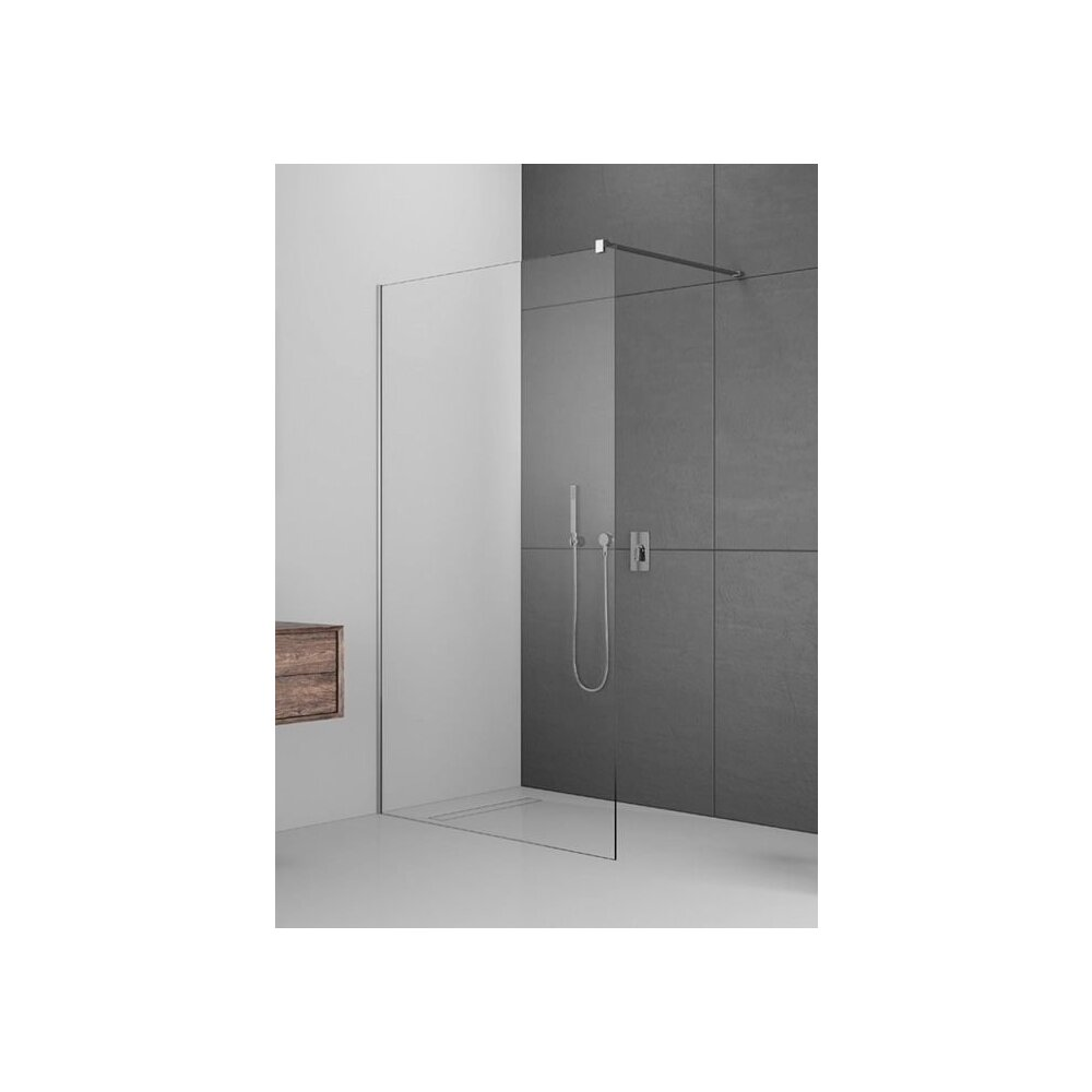 Cabina de dus tip Walk-in Radaway MODO New II 100 cm imagine neakaisa.ro