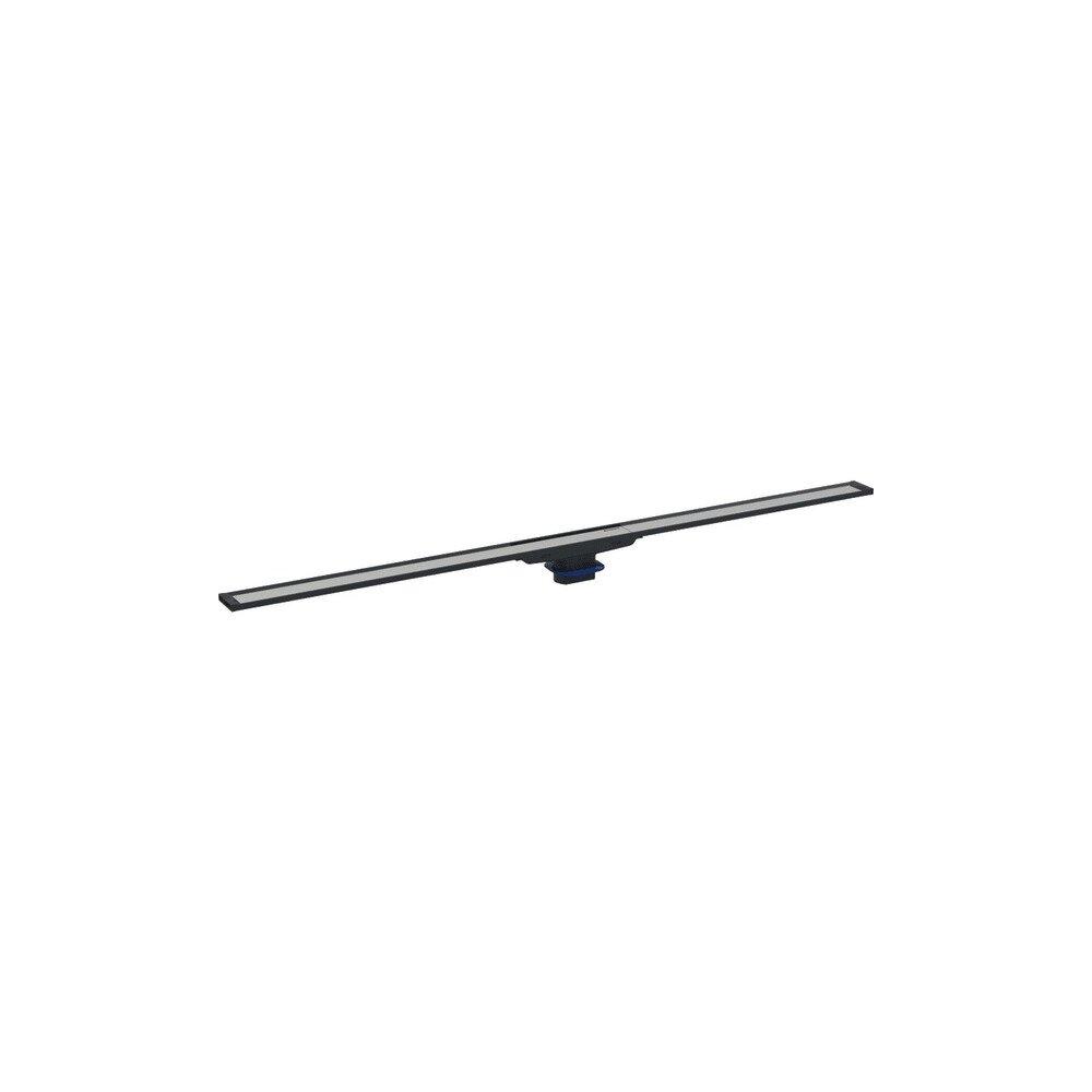 Capac pentru rigola Geberit Cleanline20 30-160 cm crom cu margine neagra imagine