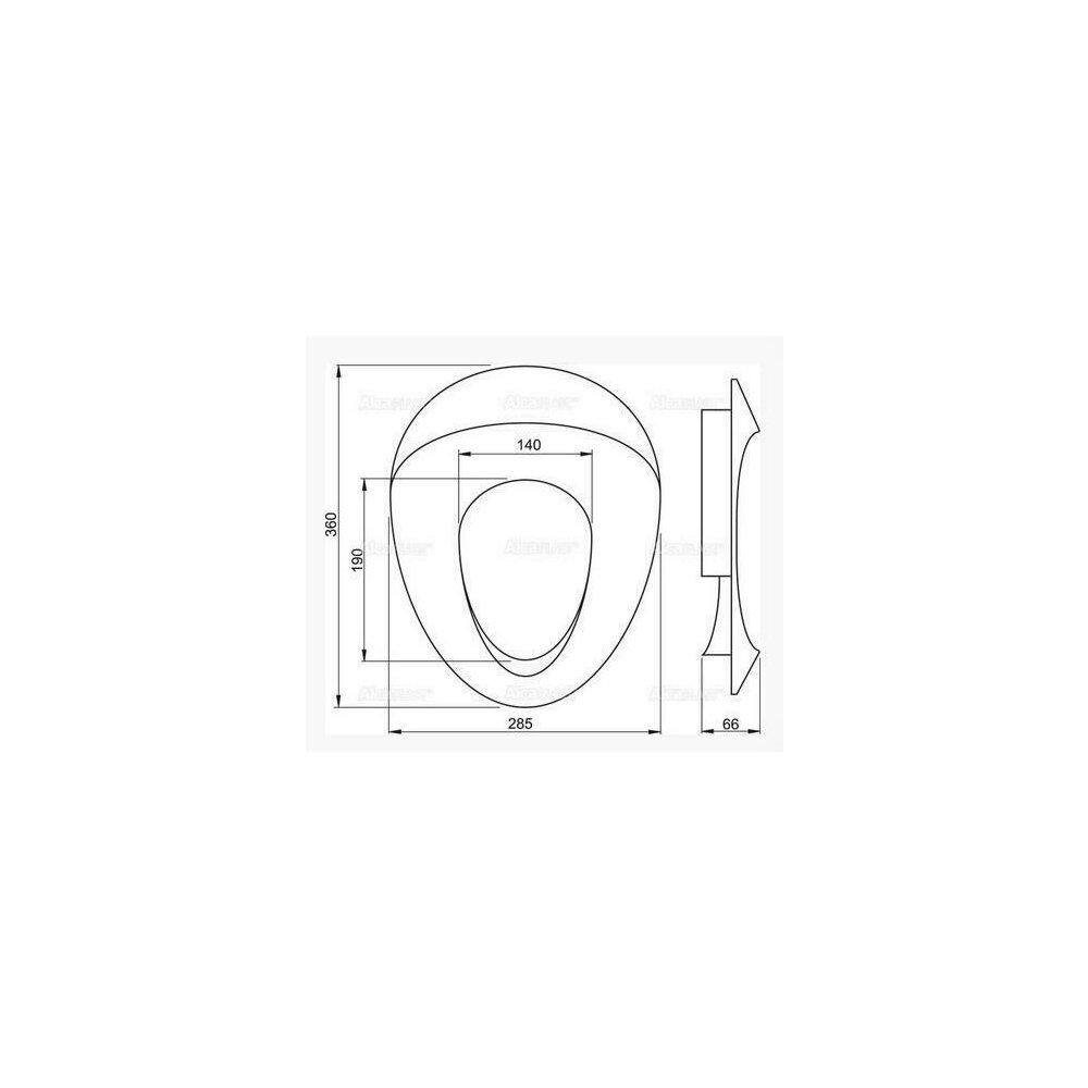 Capac toaleta suport pentru copii A68 Alcaplast imagine