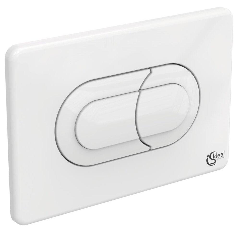 Clapeta de actionare dubla comanda Ideal Standard Solea P1 alb imagine